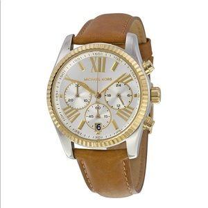 🆕Michael Kors Lexington Chronograph Watch MK2420